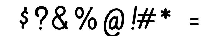 Vibur Font OTHER CHARS