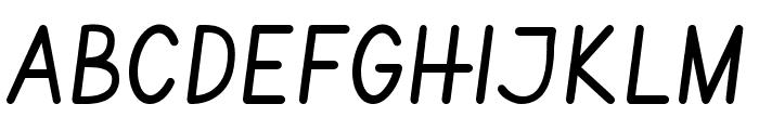 Vibur Font UPPERCASE