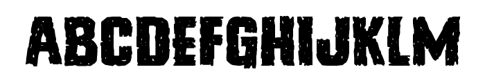 Vicious Hunger Expanded Font LOWERCASE