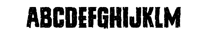 Vicious Hunger Font LOWERCASE