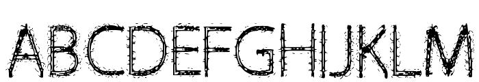 Victoria Font UPPERCASE
