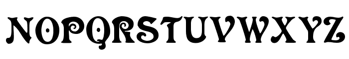 VictoriaCAT Font UPPERCASE