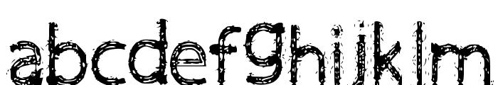 Victoria Font LOWERCASE