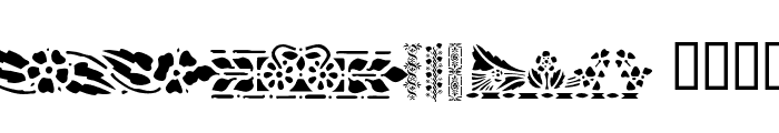Victorian Designs Two Font UPPERCASE