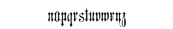 Victorian Gothic Two Font LOWERCASE