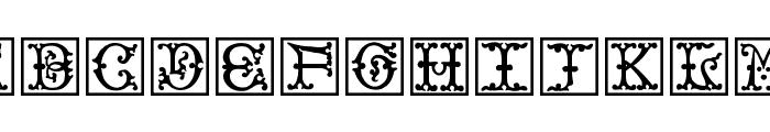 VictorianInitialsOne Font LOWERCASE