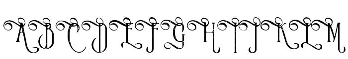 VictorianParlorVintageAlternate Font UPPERCASE