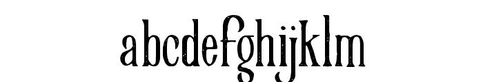 VictorianParlorVintageAlternate Font LOWERCASE