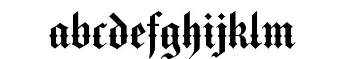 VictorianText Font LOWERCASE