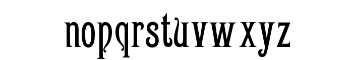 Victoriana Font LOWERCASE