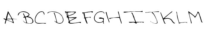 Victorias Regular Font UPPERCASE