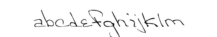 Victorias Regular Font LOWERCASE