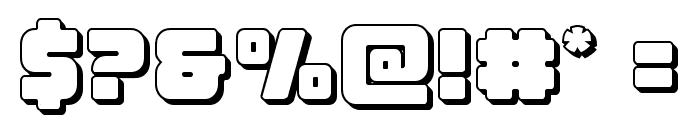Victory Comics 3D Font OTHER CHARS