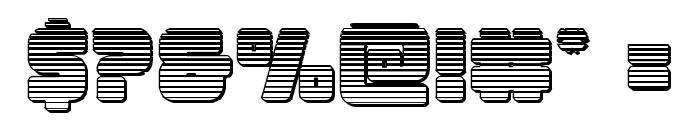 Victory Comics Chrome Font OTHER CHARS
