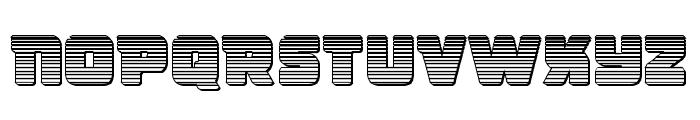 Victory Comics Chrome Font UPPERCASE
