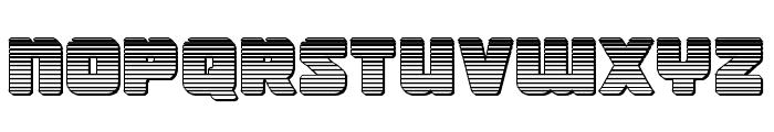 Victory Comics Chrome Font LOWERCASE