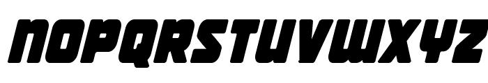 Victory Comics Condensed Semi-Italic Font LOWERCASE