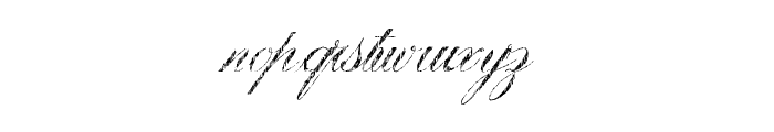 VictoryTime Font LOWERCASE