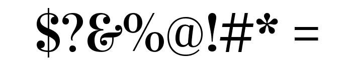 Vidaloka-Regular Font OTHER CHARS