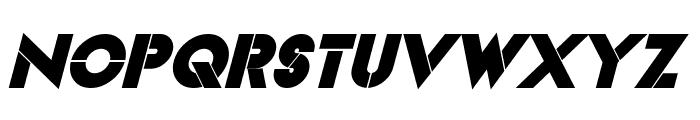 Videopac Bold Italic Font LOWERCASE