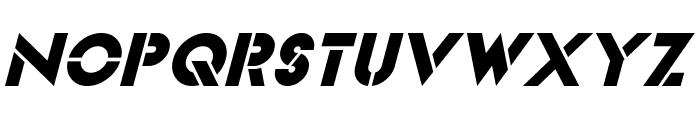 Videopac Italic Font LOWERCASE