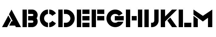 Videopac Font LOWERCASE