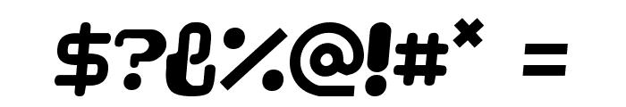 Videophreak Font OTHER CHARS
