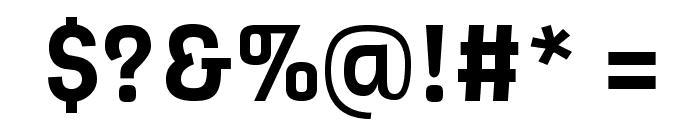 Viga-Regular Font OTHER CHARS