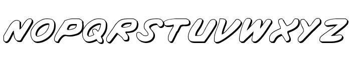Vigilante Notes Shadow Font UPPERCASE