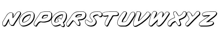 Vigilante Notes Shadow Font LOWERCASE