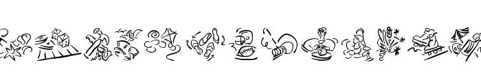 VignettSketches Font UPPERCASE