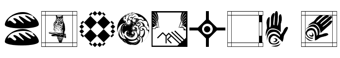 VignettesNFrames Font OTHER CHARS