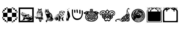 VignettesNFrames Font LOWERCASE