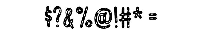 Vigtigper DEMO Regular Font OTHER CHARS