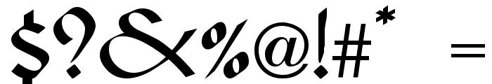 Viking Medium Font OTHER CHARS