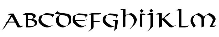 Viking Medium Font LOWERCASE