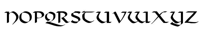 Viking-Normal Font LOWERCASE
