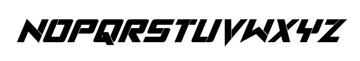 Viking Squad Bold Italic Font UPPERCASE