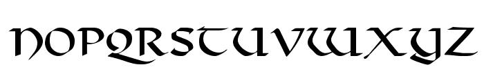 Viking Font UPPERCASE