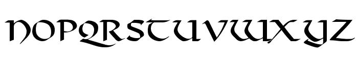 Viking Font LOWERCASE