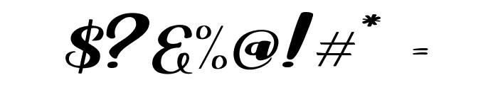 Viksi Script Font OTHER CHARS