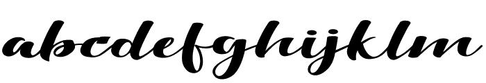 Viksi Script Font LOWERCASE