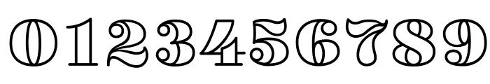 VillaDidot-Outline Font OTHER CHARS