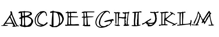 Village Idiot BB Font LOWERCASE