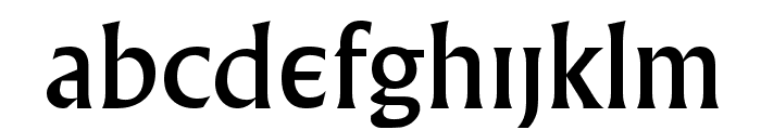 Village Font LOWERCASE
