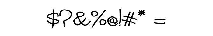 Vilova Font OTHER CHARS