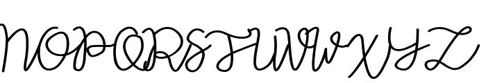 Vilova Font UPPERCASE