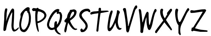 VinceHandIITRIAL Font UPPERCASE