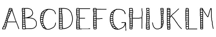 VincentStreet Font UPPERCASE