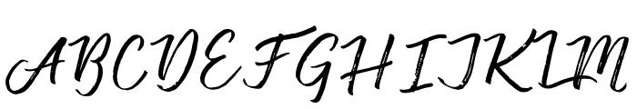 Vincentia Font UPPERCASE